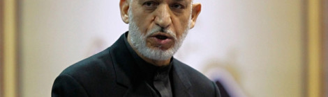 Karzai says US should re-engage Taliban peace talks or leave country