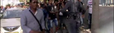 Israel's Ethiopian Jews clash with police at race rally