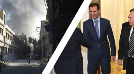 East vs West: Media Conflict - President Assad Visits Moscow
