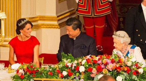 Pic of the Week: Queen Elizabeth & Princess Kate with President Xi