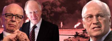 Cheney, Rothschild, Rupert Murdoch to Drill for Oil in Syria, Violating International Law