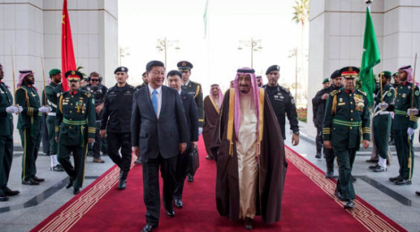 Chinese President Xi Jinping pushes trade over politics in Middle East