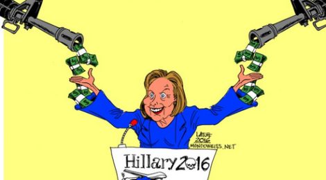 Mondoweiss: Weapons manufacturers support Hillary Clinton the most
